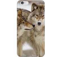 Love you sweetie... - Timber Wolves iPhone Case/Skin