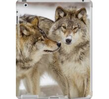 Love you sweetie... - Timber Wolves iPad Case/Skin