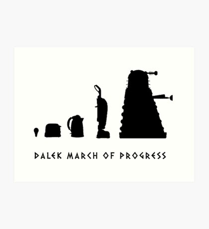 The Evolution of the Kaled Art Print
