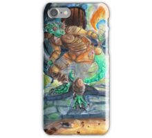 Elder Scrolls Oblivion: Argonian in the Cave iPhone Case/Skin