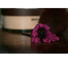 Wilted Beauty Photographic Print