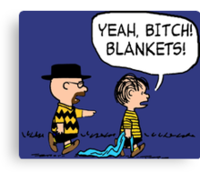 Breaking Bad Peanuts Canvas Print