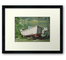 Dry Dock End Of Life Framed Print