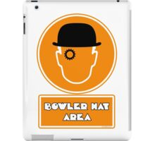 Bowler Hat Area iPad Case/Skin