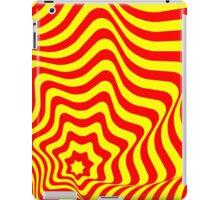 Op-Art Red/Yellow iPad Case/Skin