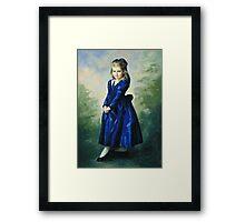Portrait of Laura Elizabeth Framed Print