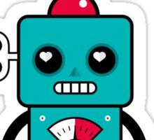 Loverholic Robotronic Sticker