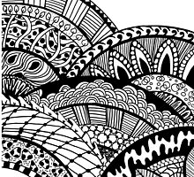 Zentangle Design by Jeri Stunkard