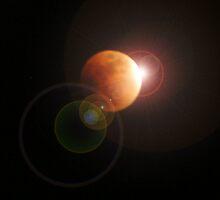Lunar Eclipse 2008 by John  Carson