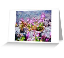 Pretty In Paint Greeting Card