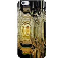 Black Gold Abstract iPhone Case/Skin