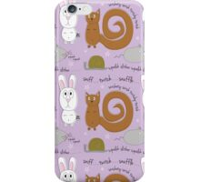 Small animals iPhone Case/Skin