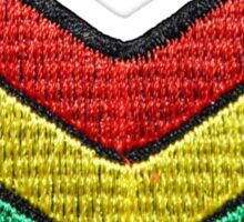 JAH Army Patch Sticker