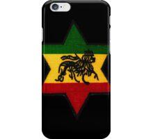 Rasta Lion Star iPhone Case/Skin