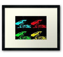 Pop Art Spitfire Framed Print
