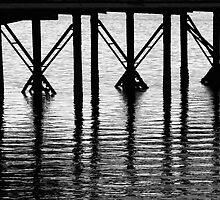 Crossed Piers by Shelley Heath