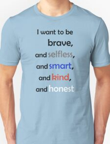 I Want to Be Divergent Unisex T-Shirt