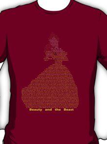 Belle in Text Art T-Shirt