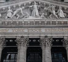 New York Stock Exchange by DamoMcc