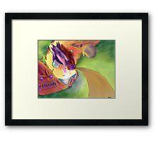 Spiral World Framed Print