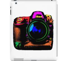 Camera pop art iPad Case/Skin