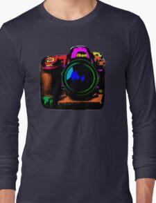 Camera pop art Long Sleeve T-Shirt