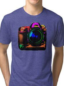 Camera pop art Tri-blend T-Shirt