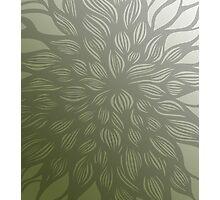 flowerburst (green) Photographic Print