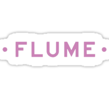 Flume simple Sticker