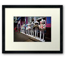 Windblown. Framed Print