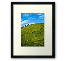 life by fives Framed Print