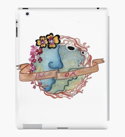 Be OK Medallion  iPad Case/Skin