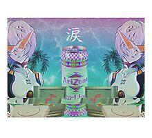 Vaporwave - Evangelion Photographic Print