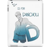 Shingeki No Alphabet - D iPad Case/Skin