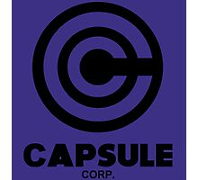 Capsule Corp. - DBZ Cosplay - History of Trunks Photographic Print