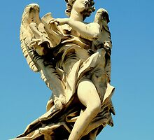 Angel from Ponte Sant Angelo by HELUA
