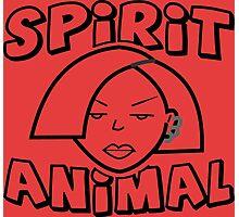 Jane Lane SPIRIT ANIMAL BLACK Photographic Print