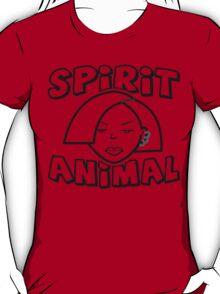 Jane Lane SPIRIT ANIMAL BLACK T-Shirt