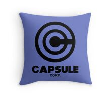 Capsule Corp. - DBZ Cosplay - History of Trunks Throw Pillow