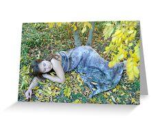 Autumn Fairy. Greeting Card