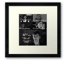The Light Behind Your Eyes: Doctor Who Framed Print
