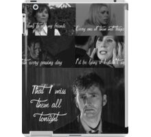 The Light Behind Your Eyes: Doctor Who iPad Case/Skin