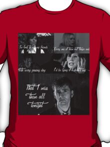 The Light Behind Your Eyes: Doctor Who T-Shirt