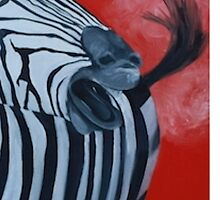 Zebra Breath Phone|Tablet Cases & Skins by Abstractable