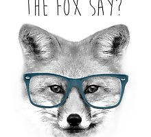 What Does The Fox Say? #2 by Julien Missaire