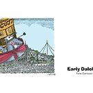 Early Dalek Flight by ToneCartoons