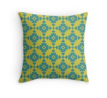 Elegant Modern Classy Retro Geometric Pattern Throw Pillow