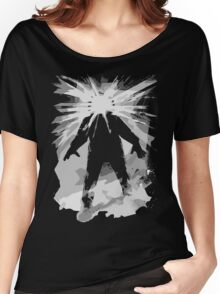 Man is the warmest place to hide ... Women's Relaxed Fit T-Shirt