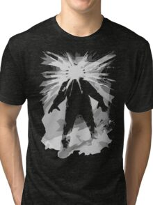 Man is the warmest place to hide ... Tri-blend T-Shirt