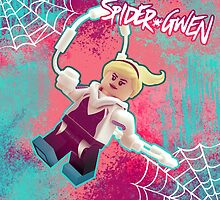 LEGO Spider-Gwen by Ryan Rydalch